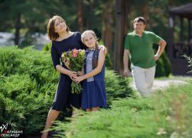 Оксана,Саша,Маша,семейная  прогулка 20.08.2014 фото 2