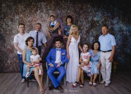 Большая семейная фотосессия большой и дружной семьи. 06.08.2016 фото 30