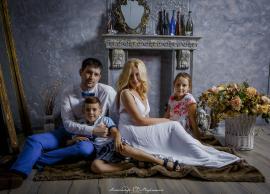 домашние фотосессии